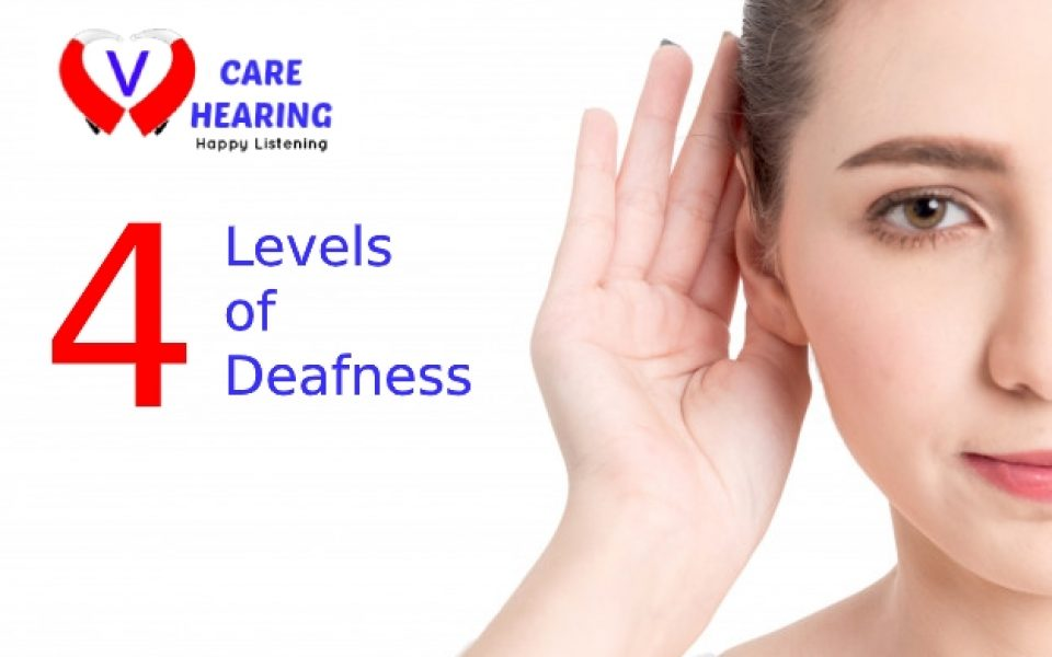 4 levels of deafness